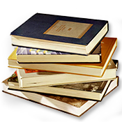 Image of stack of books.