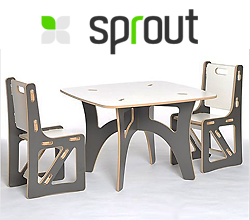 Image of the Prout Gypsy Kids Table & Chairs
