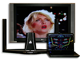 Image of The Beamz Player Interactive Music System.